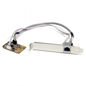 StarTech.com Carte réseau Mini PCI Express vers 1 port Gigabit Ethernet – NIC (ST1000SMPEX)