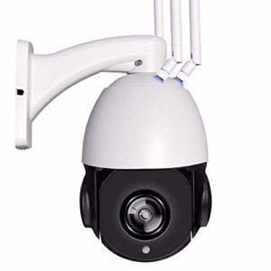 St.mary Caméra extérieure 4G1080P HD téléphone Mobile à Distance Imperméable extérieur avec Fente pour Carte TF/SIM Convient pour étang de verger,4Gmodels+128G