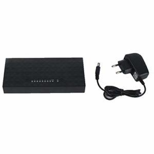Sunnyday Remise Sunnyday Remise Commutateur de Bureau réseau Ethernet LAN Mini POE 8 concentrateur Rapide 10 / 100Mbps