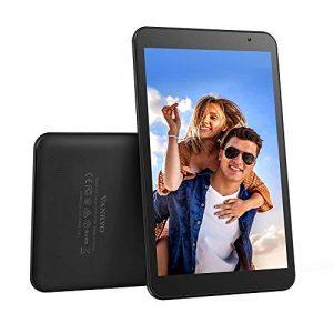 Vankyo Tablette Tactile 8 Pouces, HD 800P Tablette Android 9.0 Pie, 32GB Stockage, 128GB Extensible, 2GB Mémoire Vive, Eye Health, Double Caméra, GPS, Bluetooth, OTG, 2.4G WiFi, FM, 4000mAh