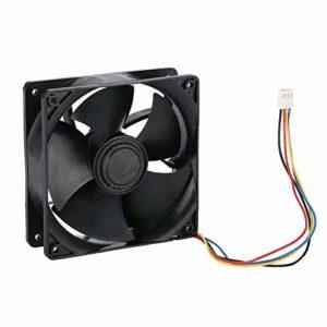 Ventilateur de refroidissement pour l'exploitation minière, ventilateur de refroidissement à haute vitesse à faible bruit 6500 tr/min, ventilateur de refroidissement à dissipation thermique rapide à f