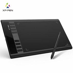 XP-PEN Star03 V2 Tablette Graphique 12 Pouces avec Stylet Passif 8192 Niveaux et 8 Raccourcis Tablette à Dessin Digital