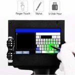 YML Imprimante À Jet d'encre Portable Intelligente avec Imprimante D'étiquettes À Écran Tactile 4.3Inch pour Marque Logo Graphique Codeur De Date