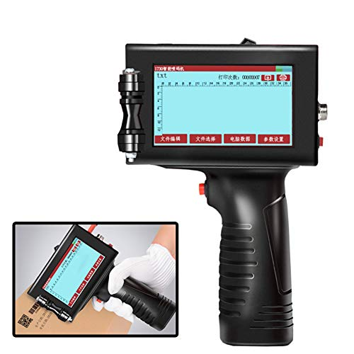 YML Machine de Codage à Jet d'encre d'affichage à écran LED d'imprimante d'étiquette de Code à Jet d'encre d'imprimante de Code à Jet d'encre Portable de définition élevée Portable
