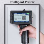 YML Portable Imprimante Jet d'encre Intelligente 4.5in écran HD Impression d'étiquettes datage Machine pour QR Code Motif Étiquette Logo Graphique Barcode Numéro Texte Produire des Marques