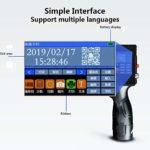 YML Portable Intelligent Printer Portable à Jet d'encre avec écran LCD Haute définition Étiquette Machine de Codage Imprimante Jet d'encre pour Les Marques Logo Date Graphique Coder