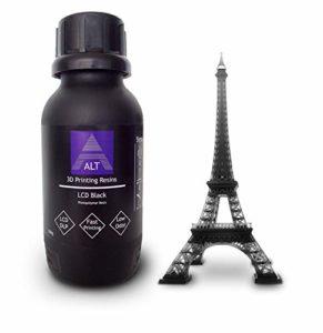 ALT 3D résines d'impression LCD Noir 500 g