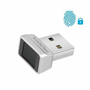 ARCANITE – Lecteur d'empreintes digitales pour Windows10 Hello, Dispositif de sécurité avec capteur à 360degrés en 0,05s, AKFSD-07