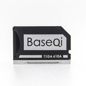 Baseqi Aluminium microSD adaptateur pour Asus Zenbook Flip Ux360ca
