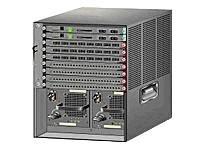 Cisco Systems Catalyst 6509Bundle Unité de Base + 1x Bloc d'alimentation (1300W) + Ventilateur (pièce de Rechange)