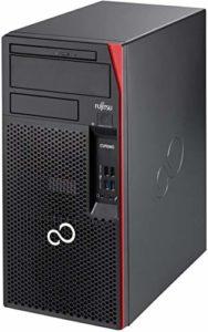 Fujitsu Esprimo P757/E94+ Disque dur SSD Intel Quad Core i5 512 Go Win 10 Pro MAR Graveur DVD PC (certifié et reconditionné)
