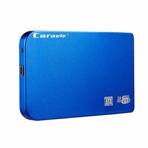 Globents Disque Dur Externe Portable 2.5 1 to 2 to Elements – USB 3.0 – pour Ordinateur Portable