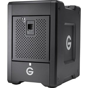 G-Technology G-Speed Shuttle boîtier de disques 20 to Bureau Noir – Boîtiers de disques (Disque Dur, 20 to, Disque Dur, 24000 to, 0, 1, JBOD, 0,5 Gbit/s)