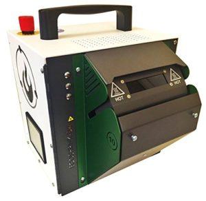 Haloblaze Eco-shrink-d4Heat Shrink Tube machine de traitement (1200W) avec interface d'écran tactile numérique