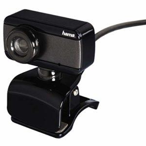 Hama Webcam «Speak2», USB, 640 x 480 pixels, noir/gris