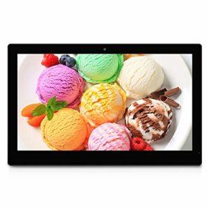 HSD-P537 PC All in One à écran tactile avec support, 2 Go + 16 Go, 15,6 pouces Full HD 1080p Android 6.0, RK3399 Dual Core A72 + Quad Core A53 jusqu'à 2,0 GHz, Bluetooth, WiFi, Carte SD, USB Haute qua