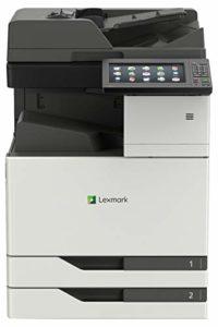 Lexmark XC9235de Laser 35 ppm 1200 x 1200 DPI A3 – Multifonctions (Laser, 1200 x 1200 DPI, 1150 Feuilles, A3, Impression directe, Gris, Blanc)