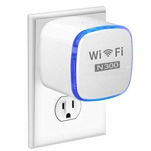 Port Ethernet 300Mbps Répéteur WiFi/Amplificateur Amplificateur de Signal pour Routeur WiFi de Voyage/Home AP