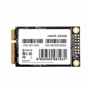 Solid State Drive Mt-128 Mini Pcie Msata Sata Iii 6 Go/s Ssd 256 Go Disque dur SSD Disque dur pour Dell M6500 Pour Lenovo Y560