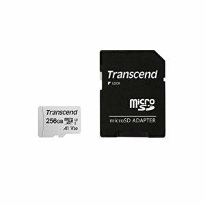 Transcend Carte Mémoire microSDXC – UHS-I Classe 3 – 3D NAND – sans adaptateur