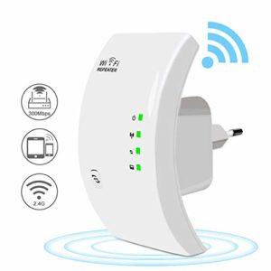 VCXZ 300Mbps sans Fil WiFi répéteur WiFi Extender amplificateur de Signal WiFi à Longue portée