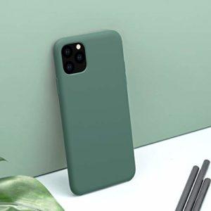 WALCD Cas Antichoc ajustés Étui en SiliconeAnti-Empreintes digitalesétuiSouple de Couverture arrière, pour iphone 11iphone 11 Pro Max11 Pro