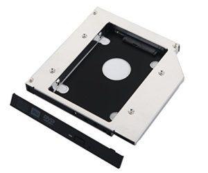 De Young 2ème disque dur HD SSD Caddy adaptateur pour Toshiba Satellite L500L500D L670L670D L675L675D
