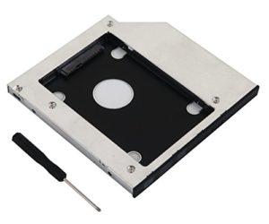 De Young 9.5mm SATA Hard Drive Disque dur SSD Caddy faciles à Sony Vaio VPC SB3ordinateur portable Série pour remplacer Uj8a2as Uj8a2DVD