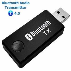 ARTBEST émetteur Bluetooth, canal musique stéréo portable sans fil USB Dongle adaptateur audio pour les appareils audio TV, casque, PC, ordinateur portable, iPod, lecteur multimédia
