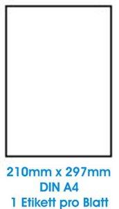 Privé: 100 feuilles A4 papier adhésif blanc; Utilisé pour toutes les imprimantes jet d'encre!