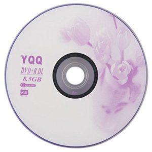 Calistouk 1pcs New 8x vierge enregistrable imprimable DVD + R DVDR disque vierge Disc 8x 8,5Go