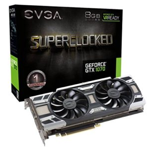 Carte Graphique EVGA GeForce GTX 1070 8G Superclocked