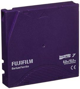 Fujifilm 16456574Ultrium 7, 6TB/15TB Argent