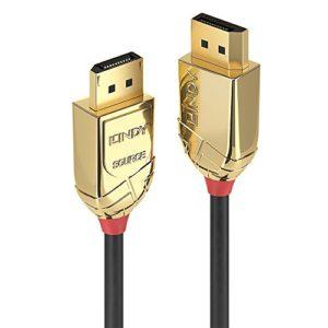 Lindy 38477 Câble Fibre Optique Hybride DisplayPort 100 M