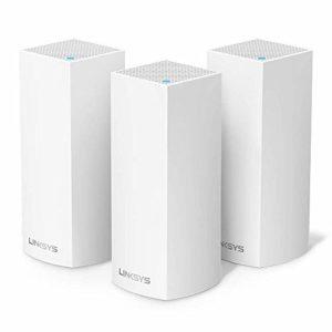 Linksys VELOP Système WiFi Multiroom AC6600 Tri-Bande avec Système MESH – 3 Bornes