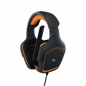 Logitech G231 Prodigy – Casque Gaming Stéréo avec Microphone, pour Tablettes, PC, Xbox One, PS4