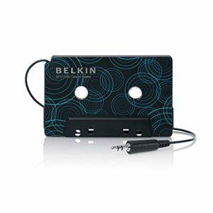 Belkin – Adaptateur Cassette avec Sortie jack 3,5mm pour Smartphone et Tablette – Noir