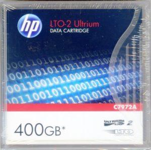 Cartouche de données HP LTO-2Ultrium 400Go