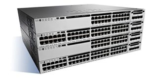 Cisco Catalyst 3850-24S-E Commutateur C3 Géré 24 x Gigabit SFP Ordinateur de bureau/Montable sur rack