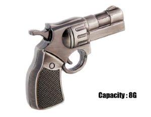 Cmeeos-JMC193 Design Revolver Couleur Clé USB 8 Go Gris
