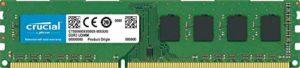 Crucial CT102464BD160B 8Go (DDR3L, 1600 MT/s, PC3L-12800, DIMM, 240-Pin) Mémoire