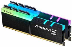 G.Skill F4-3200C16D-16GTZR Mémoire RAM DDR4 16 Go