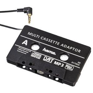 Hama Adaptateur audio CD cassette Noir (Import Allemagne)