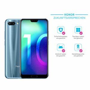 HONOR 10Smartphone (14,83cm (5.84pouces) Écran FHD + FullView, 64Go mémoire interne et mémoire RAM 4Go, Dual SIM, Android 8.1OREO)