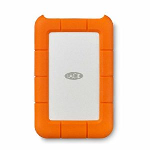 LaCie Rugged Mini 4 To – disque dur externe mobile USB-C – STFR4000800