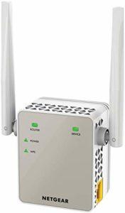 Netgear EX6120-100PES Répéteur WiFi AC 1200Mbps Double Bande – Améliore Votre WiFi – Installation Rapide – Bouton Point d'Accès