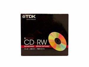 TDK 4x CD-RW Media