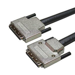 USAC Scsi Ⅲ 68p Plug VHDCI W/Vis Moletée Câble 10 Mois