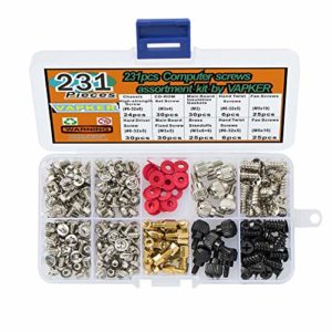 VAPKER PC Computer Screws Kit d'assortiment Kit d'assortiment de 231