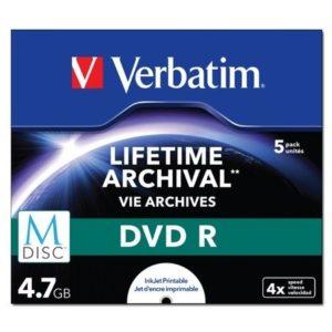 Verbatim M-Disc – DVD-R x 5 – 4.7 Go
